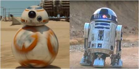 Star Wars: BB-8 and R2-D2