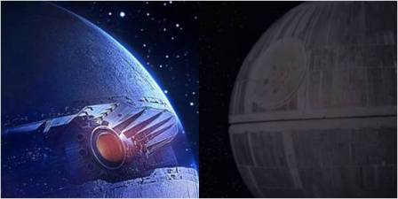 Star Wars: Starkiller Base and Death Star