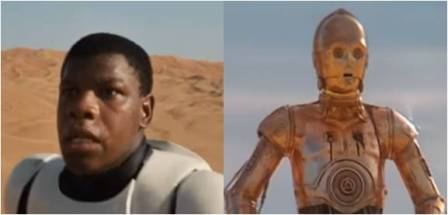 Star Wars: Finn and C-3PO