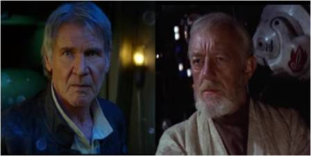 Star Wars: Han Solo and Obi Wan Kenobi