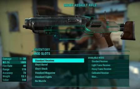 Fallout 4: Weapon Mods