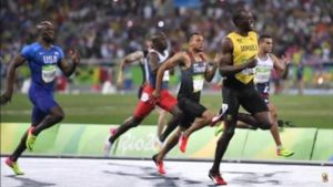 Usain Bolt in Olympics 2016