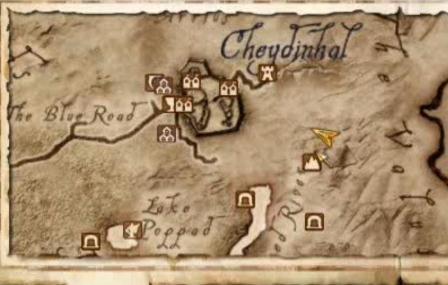 The Elder Scrolls IV Oblivion: Map