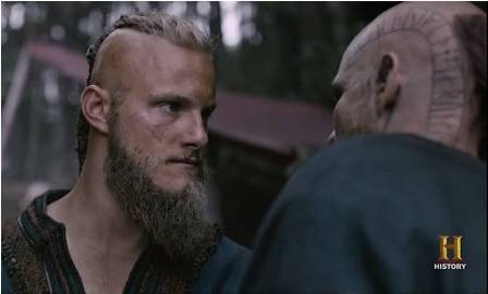 Vikings: Floki, Bjorn, and Beard